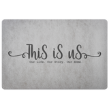 This Is Us Doormat