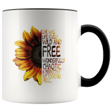 Wild & Free Sunflower Mug