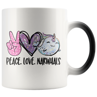 Peace Love Narwhals