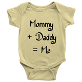 Mommy & Daddy Onsie