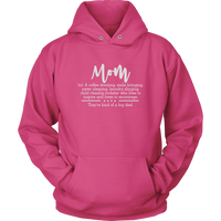 Mom Definition Hoodie