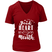 Good Heart - This Mouth VNeck