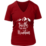 Faith Can Move Mountains VNeck