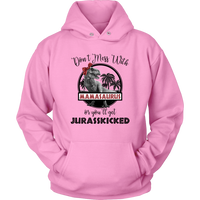 Don't Mess With Mamasaurus Hoodie