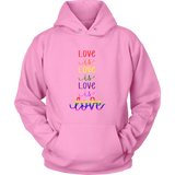 Love is Love Rainbow Hoodie