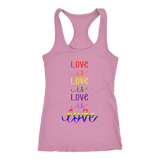Love is Love Rainbow Tank
