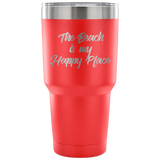 Beach Happy Tumbler
