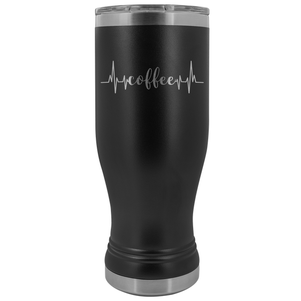 Coffee Heartbeat Tumbler