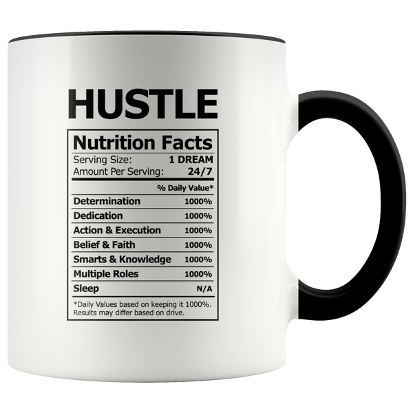 Hustle Nutrition Facts