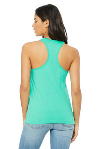 BEAUTY TO BEAST JERSEY RACERBACK TANK