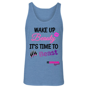 BEAUTY TO BEAST UNISEX JERSEY TANK