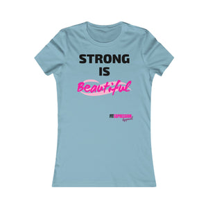STRONG IS BEAUTIFUL FAVOURITE TEE