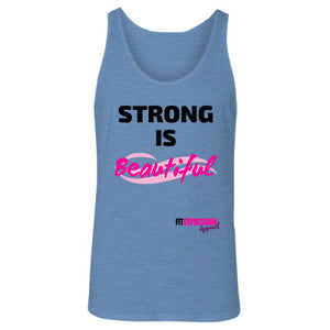 STRONG IS BEAUTIFUL UNISEX JERSEY TANK