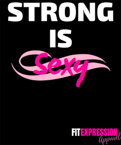 STRONG IS SEXY UNISEX JERSEY TEE