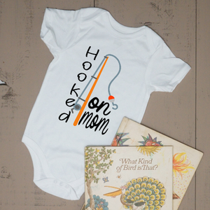 Hooked on Mom Bodysuit - Vintage Outcast