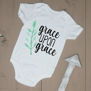 Grace Upon Grace Bodysuit - Vintage Outcast