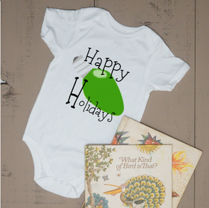 Happy Holidays Light Bodysuit - Vintage Outcast
