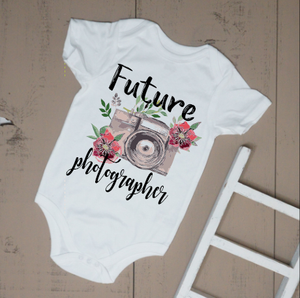 Future Photographer Bodysuit - Vintage Outcast