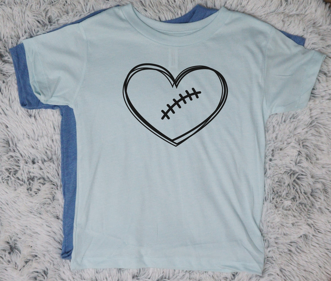 Football Heart - Vintage Outcast
