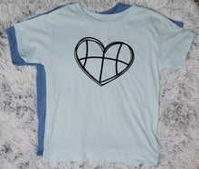 Basketball Heart - Vintage Outcast