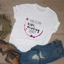 This is My Wine Drinking Shirt - Vintage Outcast
