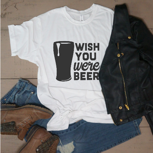 Wish You Were Beer - Vintage Outcast