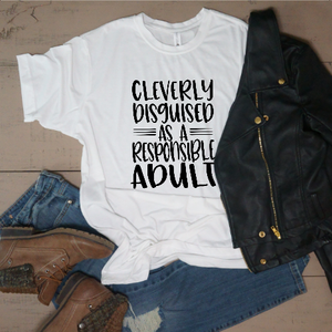 Cleverly Disguised as a Responsible Adult - Vintage Outcast