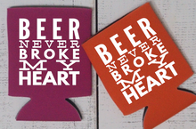 Beer Never Broke My Heart Can Cooler - Vintage Outcast