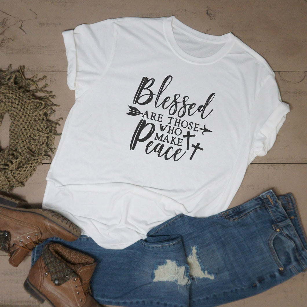 Blessed Are Those Who Make Peace - Vintage Outcast