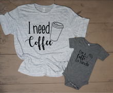 I Need Coffee Mommy and Me Set - Vintage Outcast