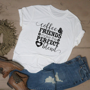 Coffee & Friends Make the Perfect Blend - Vintage Outcast