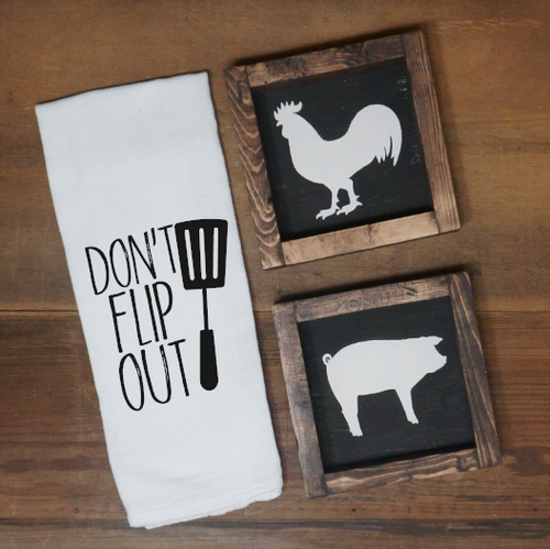 Don't Flip Out Towel - Vintage Outcast