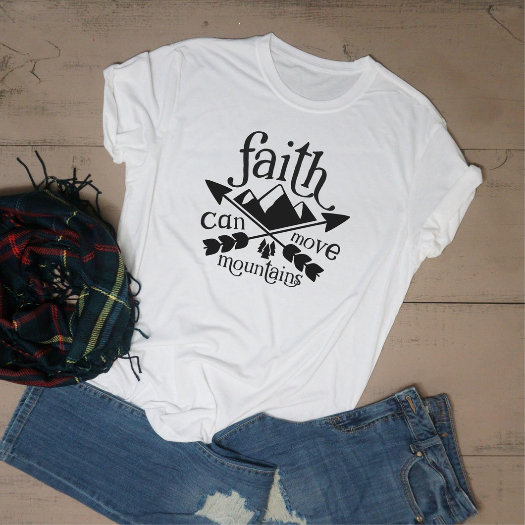 Faith Can Move Mountains - Vintage Outcast