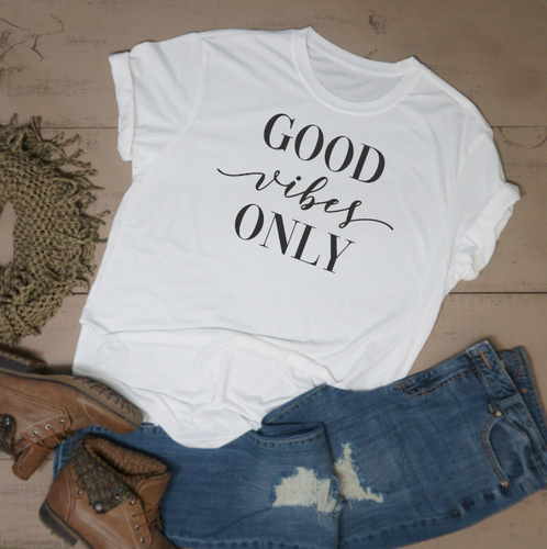 Good Vibes Only - Vintage Outcast