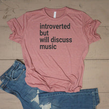 Introverted, But Will Discuss Music - Vintage Outcast