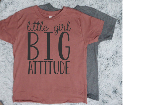Little Girl Big Attitude - Vintage Outcast