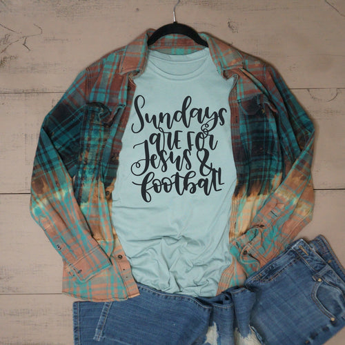 Sundays are for Jesus & Football - Vintage Outcast