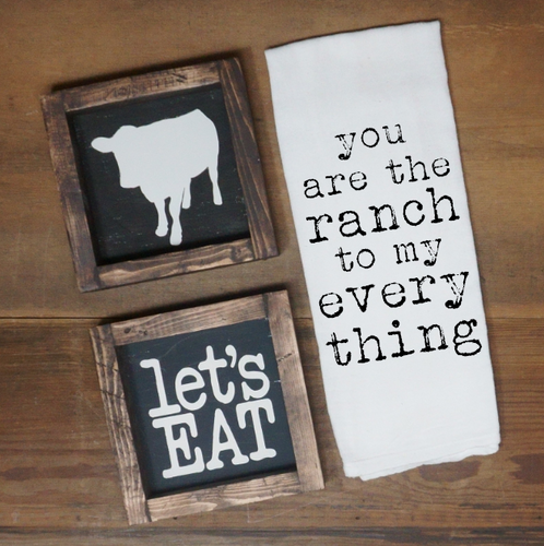 You are the Ranch to My Everything - Vintage Outcast