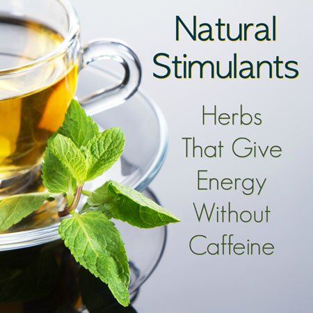 herbal tea gives energy without caffeine
