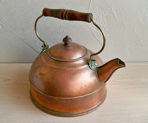 teapot on a table