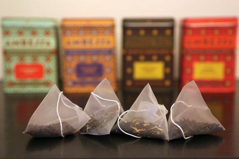 making tea from teabags