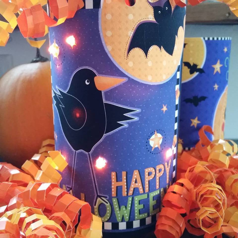 Crow and Bat DIY Lantern
