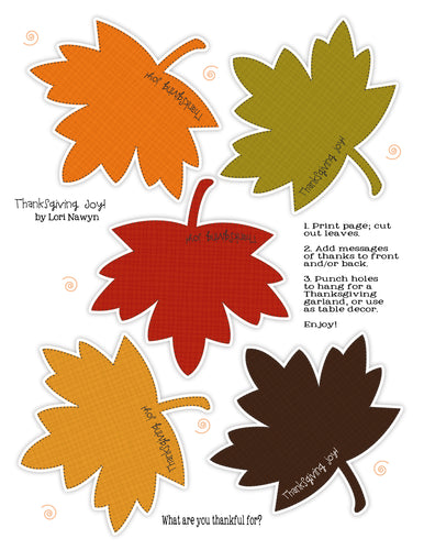 INSTANT DOWNLOAD - THANKSGIVING JOY - 3