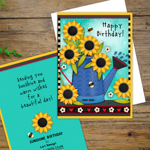 Sunflower Happy Birthday