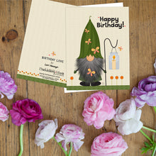 Leafy Gnome Notecards