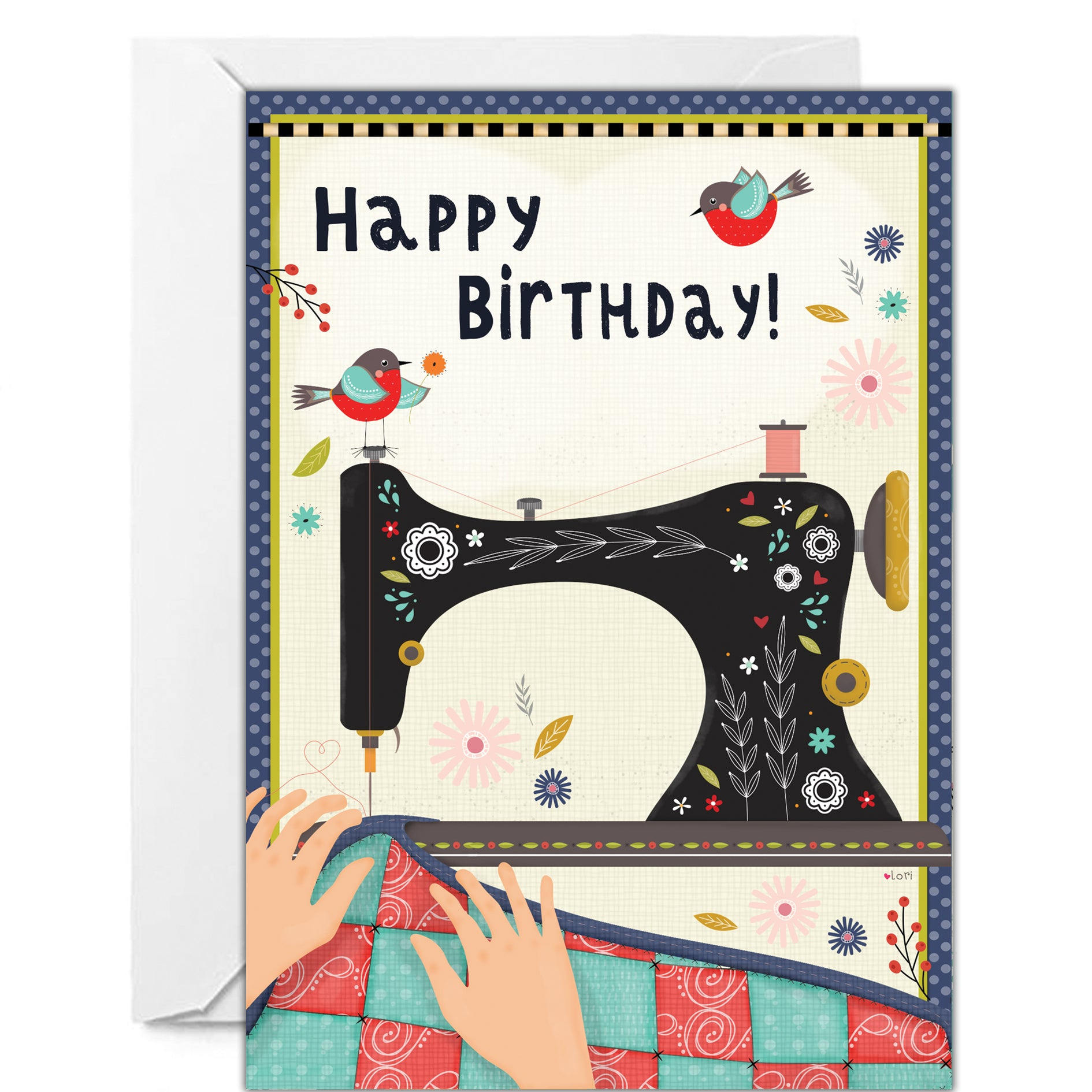 Happy Birthday Sewing Images