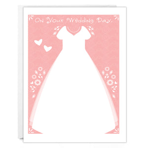 WEDDING NOTECARD - On Your Wedding Day Notecard