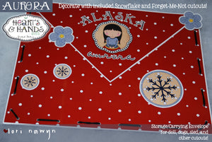 ALASKA  - DIY DIGITAL DOWNLOAD PAPER DOLL KIT