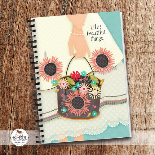 Life's Beautiful Things - Spiral Notebook