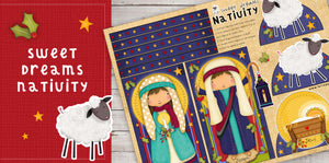 DIY Digital Download - Sweet Dreams Nativity
